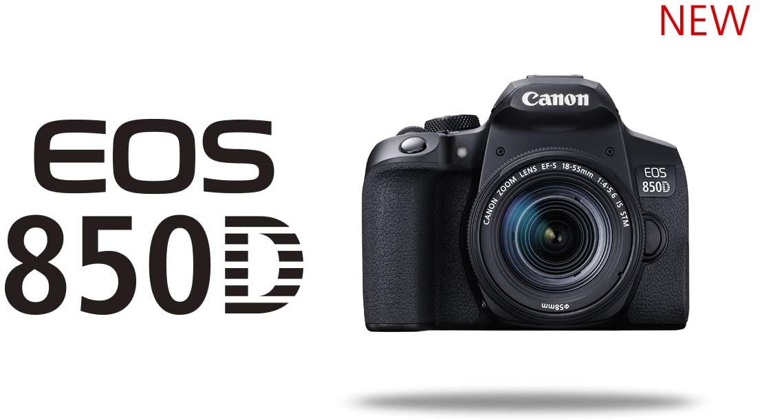 Camera Canon EOS 850D EF-S 18-55mm