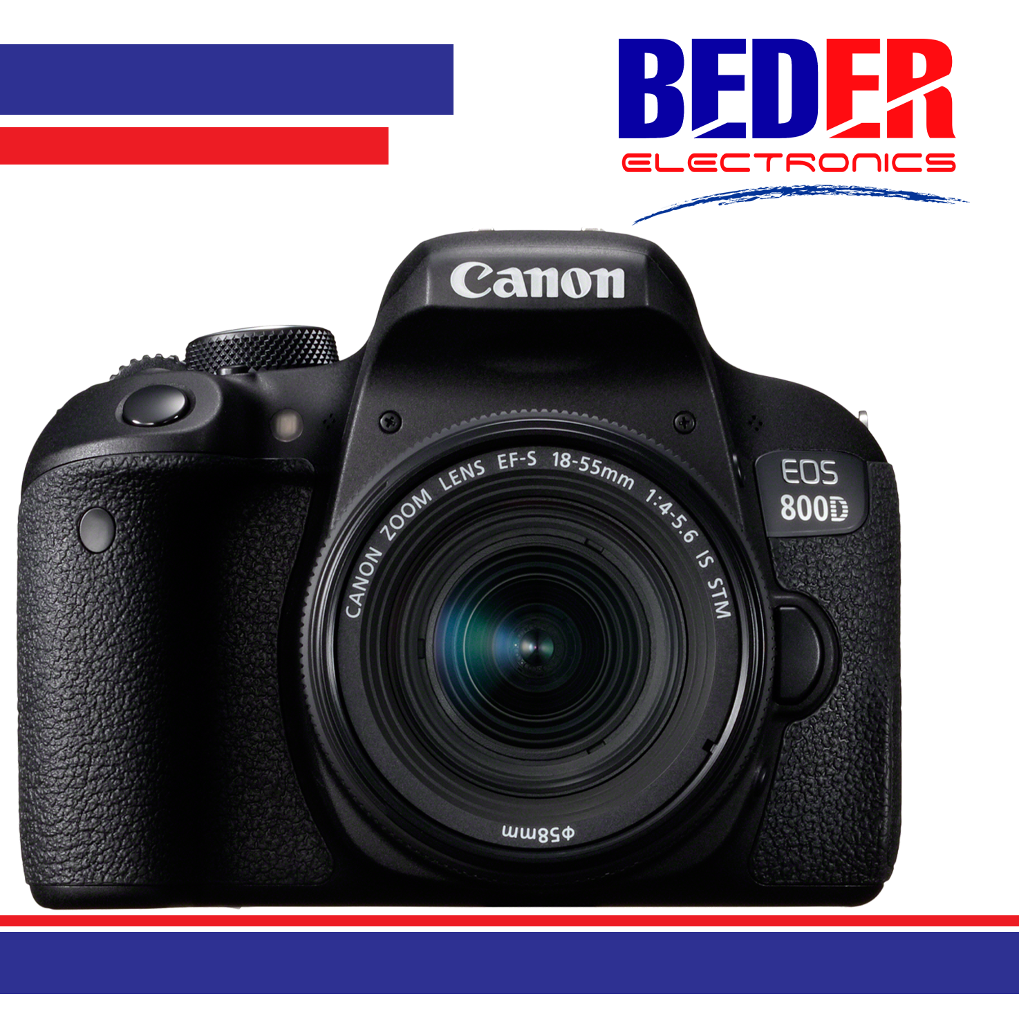 Canon EOS 800D Digital SLR with 18-55
