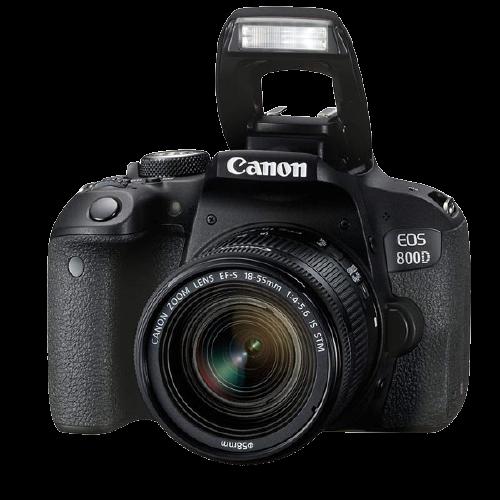 Canon EOS 800D Digital SLR with 18-55