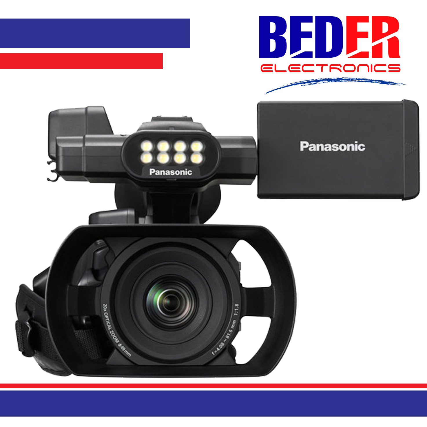 CAMERA PANASONIC AG-AC30